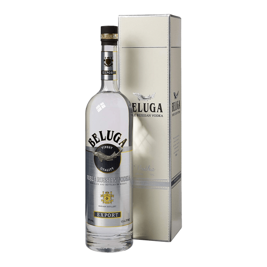 Beluga Noble Vodka 40% ABV...