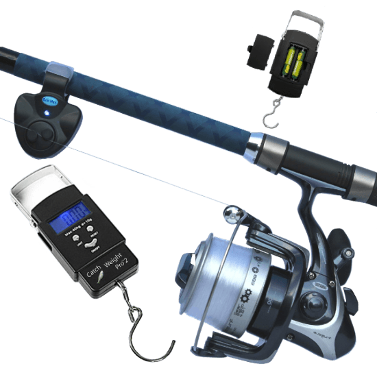 Bite-Max-Fishing-Twin-Pack-,-Micro-Bite-Alarm-Indicator-&-Catch-Weight-Pro-2