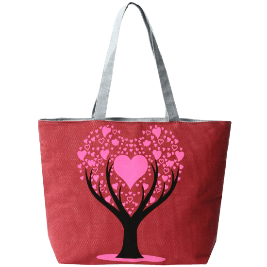 Prints Large Canvas Beach Tote Bag