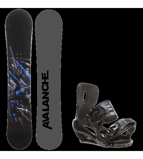 Mens Snowboard + Sapient Stash Bindings