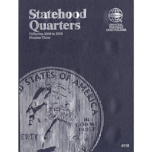 STATEHOOD QUARTER NEW WHITMAN TRIFOLD