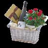Luxury Red Wine Gift Basket