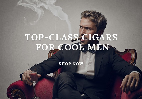 Top-class cigars for cool men