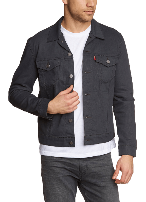 Men's Slim Denim Trucker Jacket
