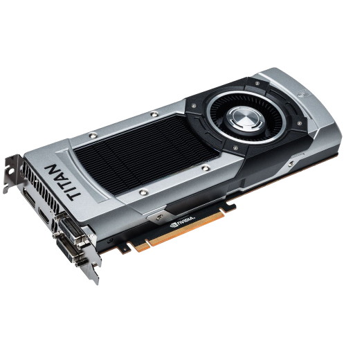 EVGA GeForce GTX TITAN BLACK Superclocked w/G-Sync Support 6GB