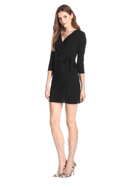 Star Vixen Women's Faux-Wrap Dress