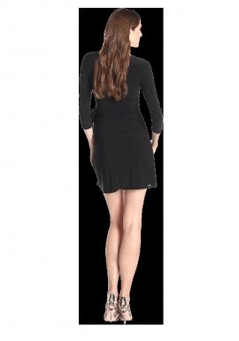 Star Vixen Women's Faux-Wrap Dress