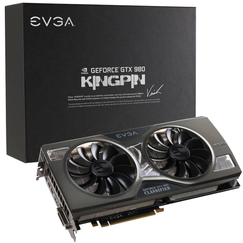 EVGA GeForce GTX 980 4GB 256-Bit