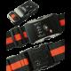 Coded Lock Travel Luggage Suitcase Belt Stripe