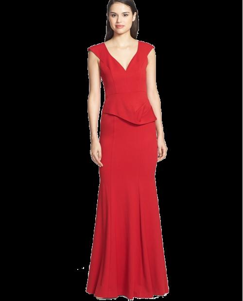 High Maxi Dress