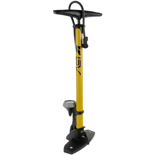 Steel Floor Pump with Gauge