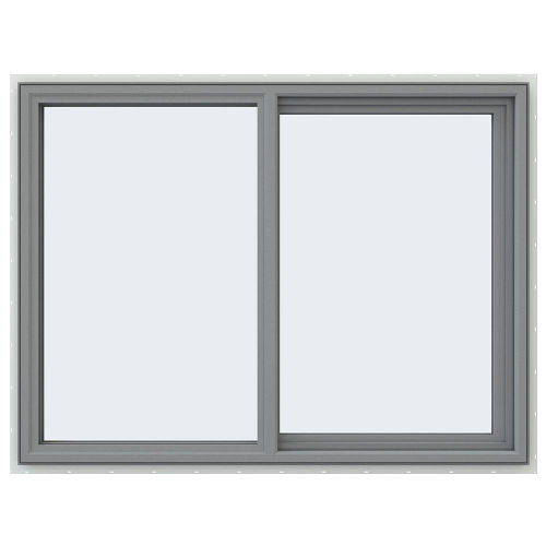 Left-Hand Sliding Vinyl Window