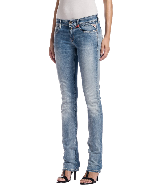 Replay Women's Vicki Straight Jeans Blue