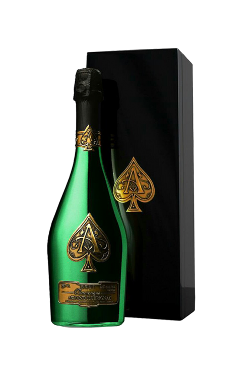 'Ace of Spades' Limited Edition Green Bottle