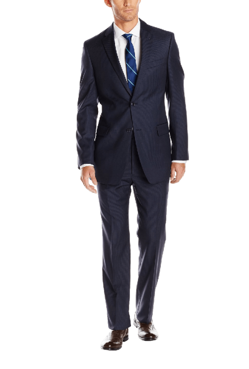 Men's Nathan Two-Button Tailored Fit Suit