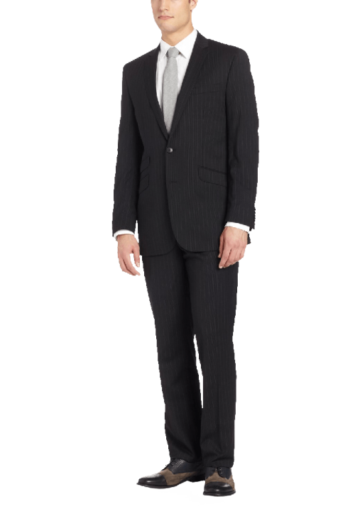Men's Pinstripe Suit