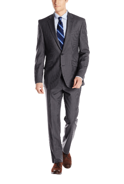 Men's 2 Button Notch Lapel Suit