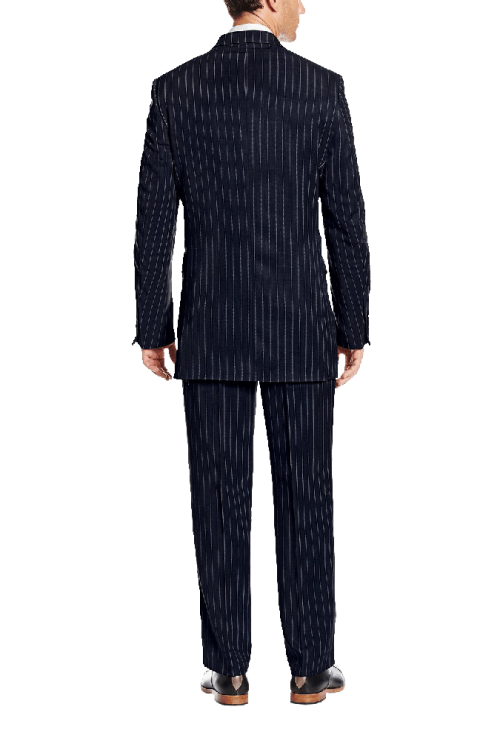 Men's Big Tall-Mars Vested 3 Piece Suit