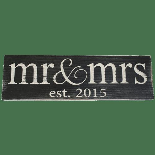 Vintage Wood Sign for Wedding