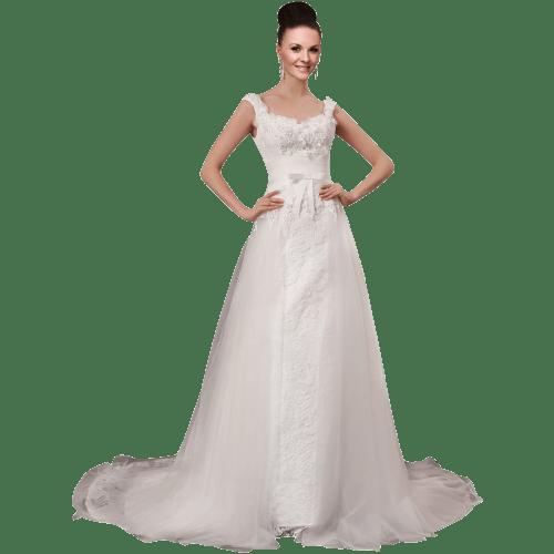 Bowknot Wedding Dress