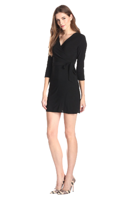 Star Vixen Women's Faux Wrap Dress