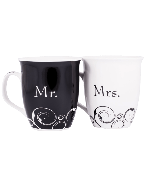 Mr. and Mrs.Christian Coffee Mug Set