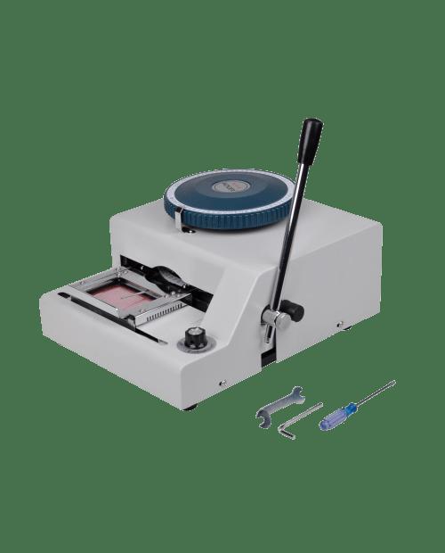Manual Embosser Credit Id PVC
