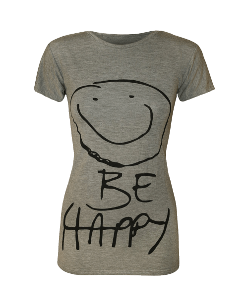 Be Happy Smiley Face Top