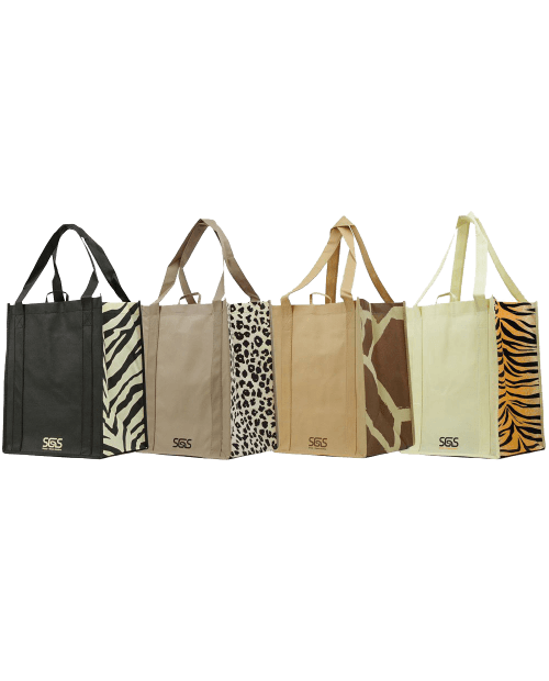 Pattern Prints Reinforced Bags