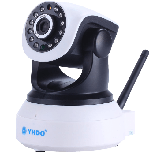 Mobile View Motion Detecting Alert Wifi Connect HD 1280 X 720 Clear Image Quality