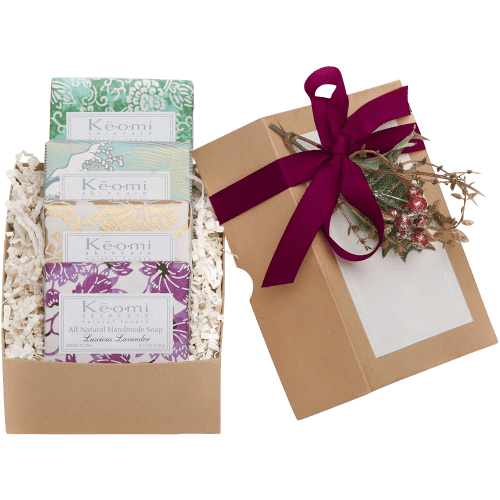 ORGANIC HANDMADE SOAP GIFT SET - ALL NATURAL