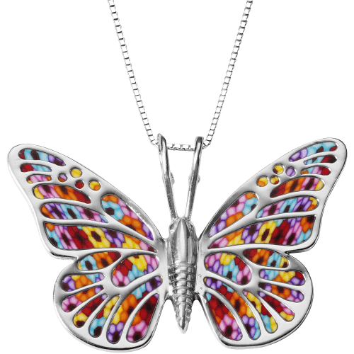 Butterfly Necklace - 925 Silver