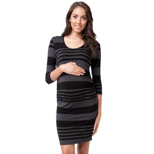 Striped Nursing Tube Dress