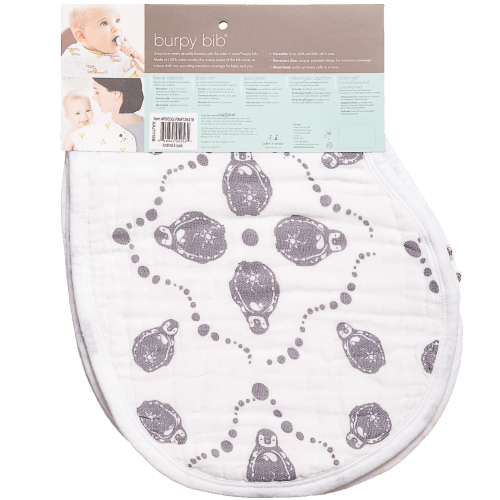 Baby 'Kindred' Cotton Muslin Burpy Bibs
