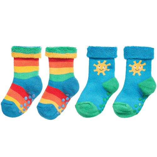 Frugi Organic Cotton 'Grippy' Socks