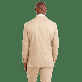 White and Burgundy Pindot Smart Shirt