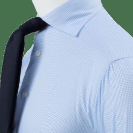 White Seersucker Overshirt