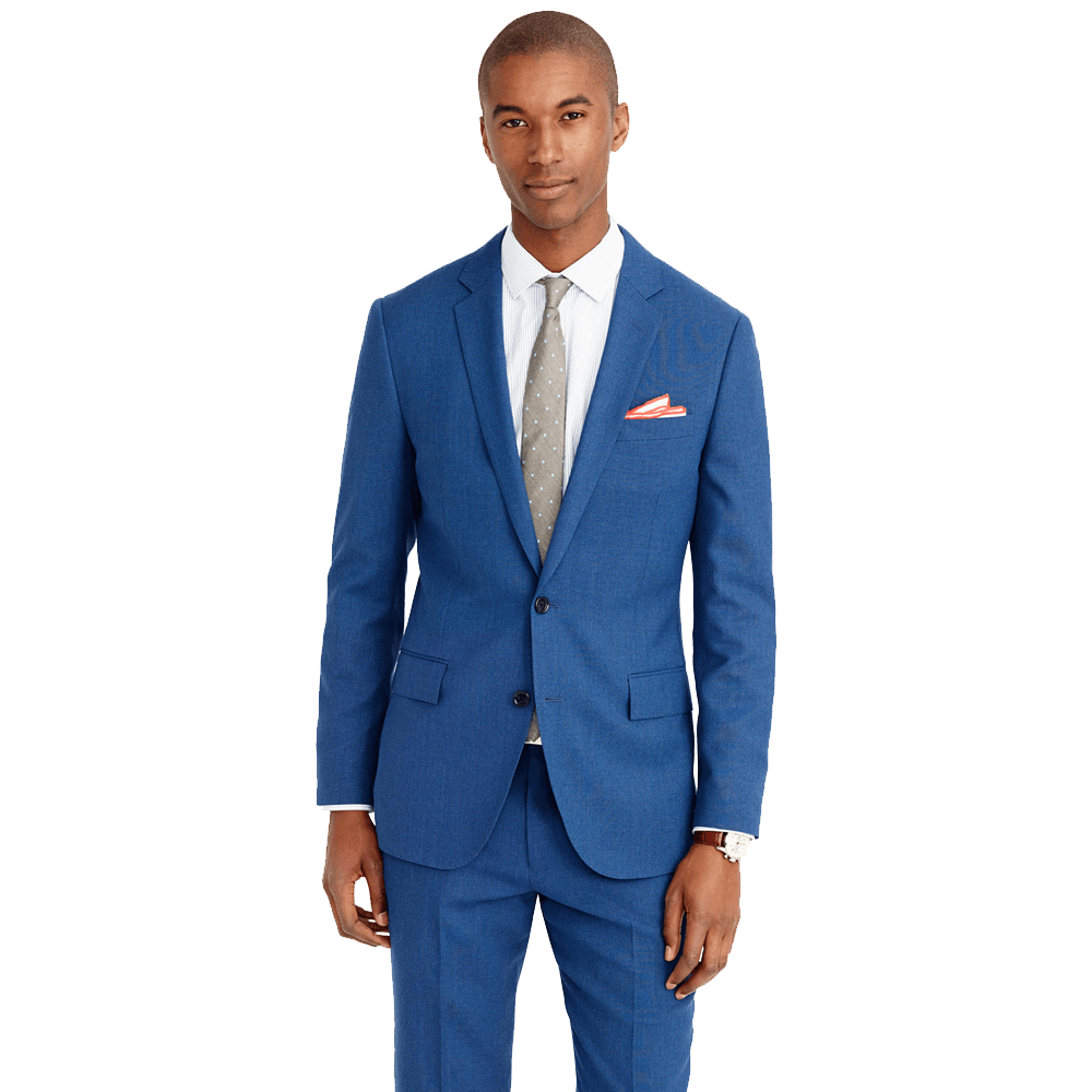 f87623c7a50810 Ludlow Traveler suit jacket in Italian wool - MannerAuthor