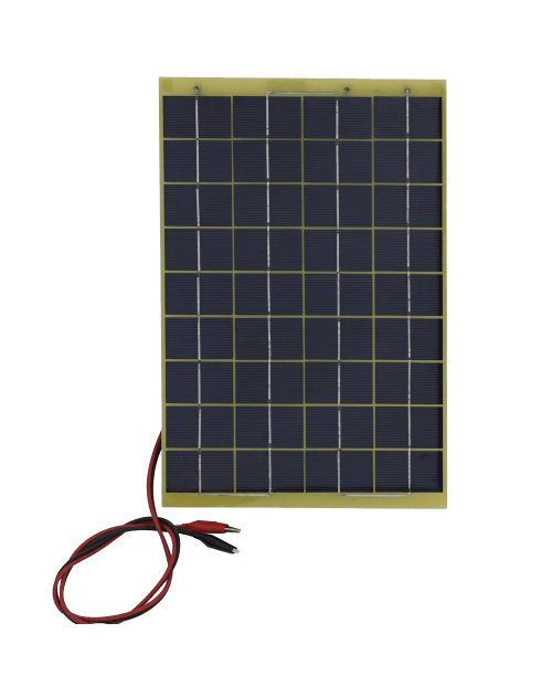 Watts 12 Volts Epoxy Solar Panel Module 12V Battery Charger Camping