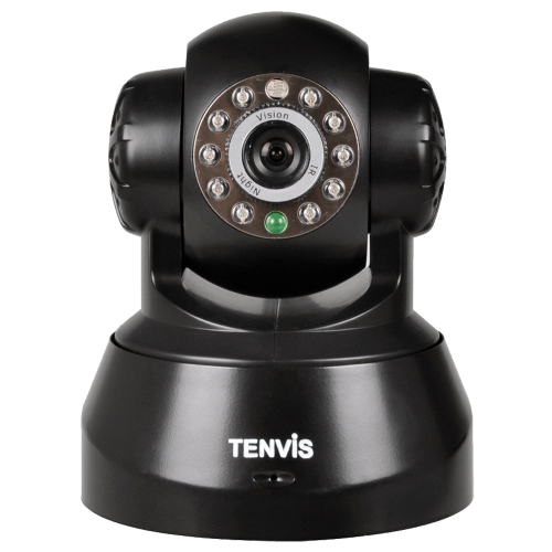 JPT3815W Wireless IP Pan-Tilt-Night Vision-Audio Surveillance Camera with Remote Monitoring
