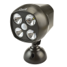 Outdoor Wireless LED Spotlight with PIR Motion Sensor Detector and Photocell