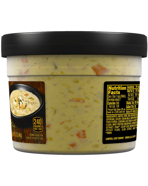 Campbell's Slow Kettle Style Kickin' Crab & Sweet Corn Chowder