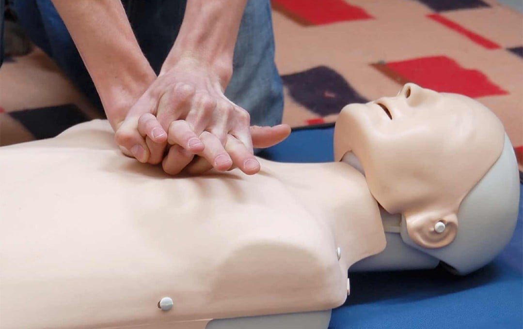 CPR AED and First Aid courses