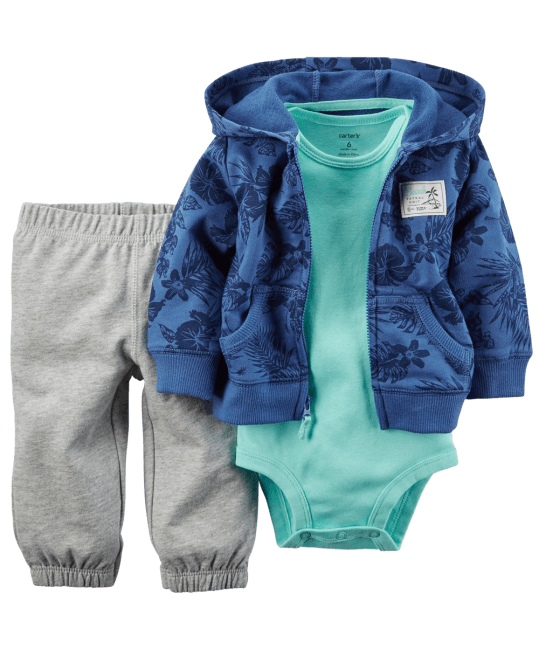 Carter's Baby Boys' 3 Piece Cardigan Set