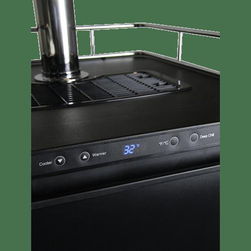 Triple Faucet Digital Kegerator