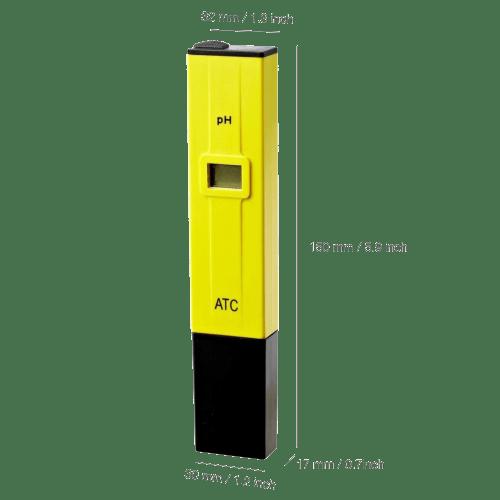 High Accuracy pH Meter pH Pen Tester with ATC