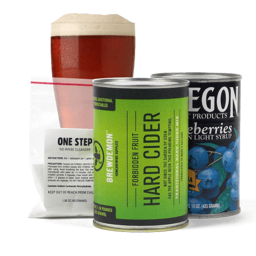 One Gallon Apple Cider Starter Kit