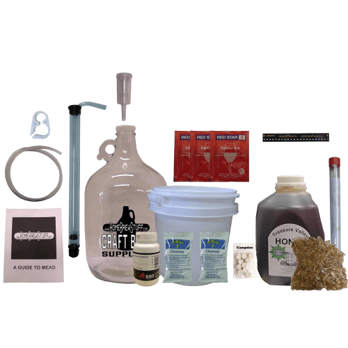 One Gallon Deluxe Mead Kit