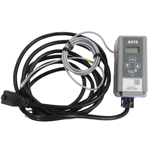 Controls Digital Thermostat Control Unit
