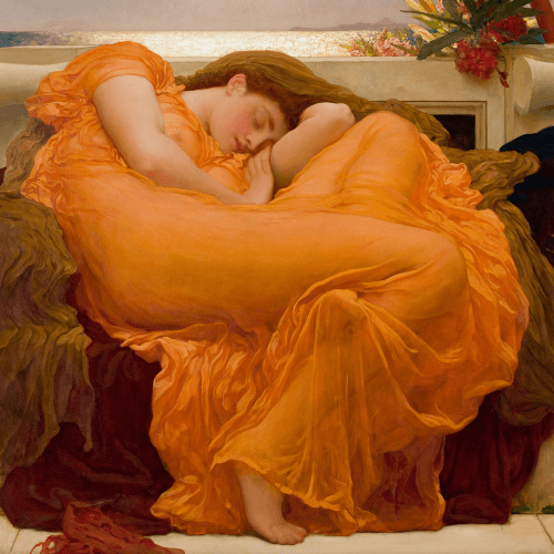 Flaming June Frederic Leighton Classic